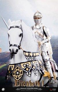 <img class='new_mark_img1' src='https://img.shop-pro.jp/img/new/icons25.gif' style='border:none;display:inline;margin:0px;padding:0px;width:auto;' />送料無料 予約 1/6 POPTOYS EX027C エリザベス Queen Elizabeth 戦馬 War Horse