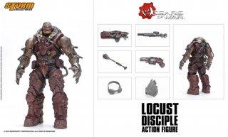 送料無料 予約 1/12 Storm Toys ギアーズ・オブ・ウォー Gears Tactics Disciple Locust Drone