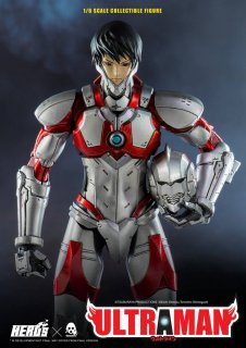 <img class='new_mark_img1' src='https://img.shop-pro.jp/img/new/icons1.gif' style='border:none;display:inline;margin:0px;padding:0px;width:auto;' />予約 送料無料  1/6 threezero × HERO 3Z0032 Ultraman ウルトラマン 早田進次郎