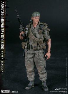 送料無料 予約 1/12 DAMTOYS PES006 ベトナム戦争 第25歩兵師団