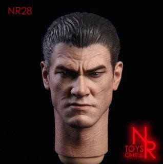 予約 送料無料  1/6 NRTOYS NR28 パニッシャー 欧米男性ヘッド