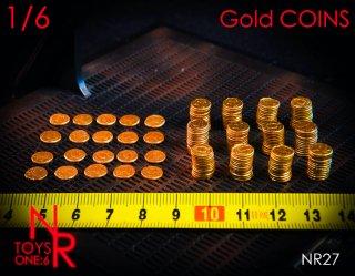 予約 送料無料  1/6 NRTOYS NR27 金コインセット