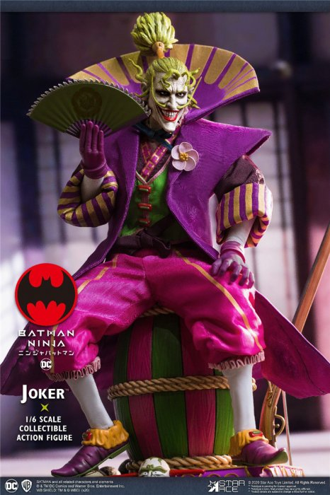 送料無料 予約 1/6 STAR ACE Toys SA0077 Deluxe Edition ジョーカー ...