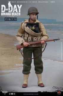 予約 送料無料  1/12 SoldierStory SSM005  アメリカ陸軍レンジャー部隊 ノルマンディー上陸作戦 兵士