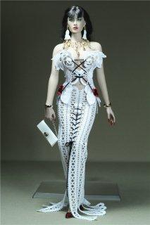 送料無料 1/6 GamerBeauty A2012 TBLeague素体用  2020最新版 美人  ドレスとアクセサリーセット