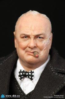 予約 送料無料  1/12 DID XK80002 ウィンストン・チャーチル PALM HERO Prime Minister Of United Kingdom