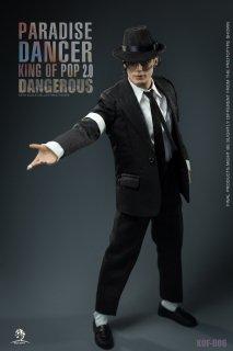 送料無料 予約 1/6 King of Figure KOF-06  PARADISE DANCER KING OF POP  2.0 DANGEROUS ジャクソン 欧米男性フルセット
