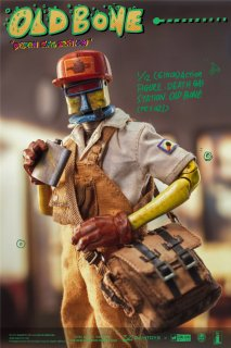 予約 送料無料  1/12 DAMTOYS x COALDOG D.G.S PES021  OLD BONE  Death Gas Station