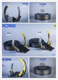 送料無料  1/12 PCTOYS PC018 テクノロジーフォーム 地台 SHF MAFEX COMICAVE 利用可