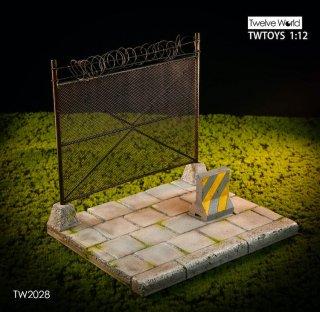 予約 送料無料  1/12 TWTOYS TW2028 コンクリート金属ネット Metal mesh scene