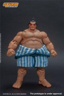 予約 送料無料  1/12 Storm Toys CPSF20 ストリートファイターV E.HONDA 相撲 本田