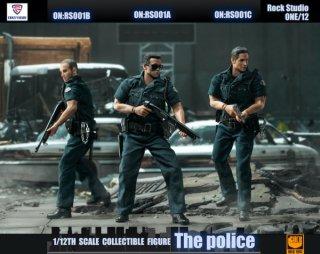 予約 送料無料  1/12 ROCKTOYS RS001 都市警察 欧米男性フルセット