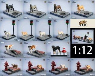<img class='new_mark_img1' src='https://img.shop-pro.jp/img/new/icons2.gif' style='border:none;display:inline;margin:0px;padding:0px;width:auto;' />予約 送料無料  1/12 JXK studio JXK039/JXK040/JXK041/JXK042/JXK043 名犬と地台