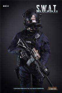予約 送料無料 1/6 mini times M024 SWAT アメリカ警察特殊部隊 射撃訓練室付