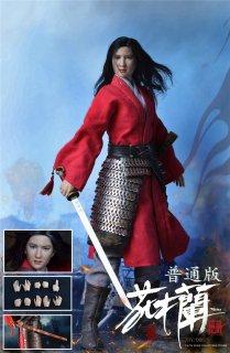 予約 送料無料 1/6 ZOY TOYS ZOY006 中国古代美人女性将軍 花木蘭