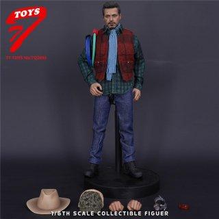 予約 送料無料 1/6 TTTOYS TQ2095 トニー アイアン 欧米男性ヘッドと服セット
