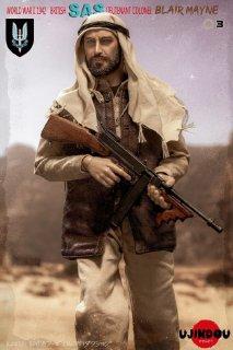 予約 送料無料 1/6 UJINDOU UD9003 イギリス陸軍 特殊空挺部隊 WWII 1942 BRITISH SAS LIEUTENANT COLONEL BLAIR MAYNE