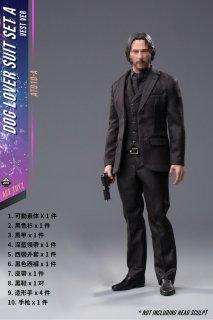 予約 送料無料 1/6 ACE TOYZ AT010-A2 リーブス 男性スーツ靴と素体と武器セット