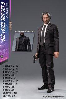 予約 送料無料 1/6 ACE TOYZ AT010-B2 リーブス 男性スーツ靴と素体と武器セット