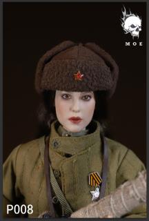 予約 送料無料 1/6 MOETOYS P008 ソビエト連邦 美人スナイパー 第二次世界大戦