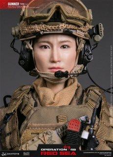 予約 送料無料 1/6 DAMTOYS DMS015 オペレーション:レッド・シー OPERATION RED SEA Gunner Tong Li