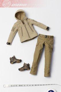送料無料 1/6 スーパー特別提供 2020ガールズ  女性現代作戦服と靴セット