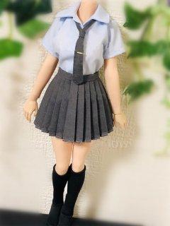 送料無料 1/6 Charlie's Angels 2020ガールズ  学院スタイル 女子高生 JKセーラー服と靴下セット