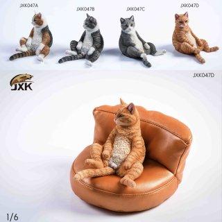 送料無料  1/6  JXK JXK047 Domestic short-haired cat 猫とソファ