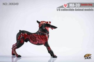 送料無料 予約 1/6  JXK JXK049 バイオハザードドーベルマン犬 3.0版