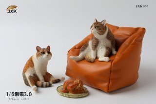 予約 送料無料 1/6 JXK studio JXK055 三花猫とソファ