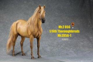 送料無料 予約 1/6 MR.Z  MRZ056 日本式 純血馬