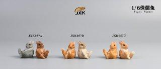 予約 送料無料 1/6 JXK studio JXK057 ネザーランド・ドワーフ ウサギ兎