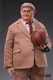 予約 送料無料 1/6 NOVA バスケットボールチーム 鬼コーチ アジアン男性フルセット