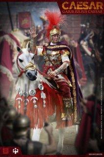 予約 送料無料 1/6 HHMODEL x HAOYUTOYS HH18025 ガイウス・ユリウス・カエサル と戦馬