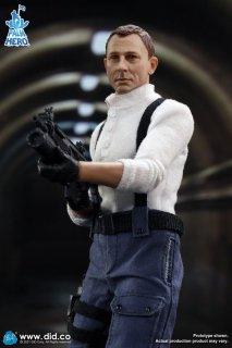 予約 送料無料  1/12 DID XM80003 MI6 Agent Jack   エージェント ジャック 欧米男性フルセット