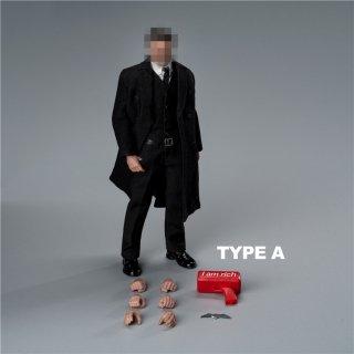 予約 送料無料  1/12 Boring toys richman アフレック バット欧米男性フルセット