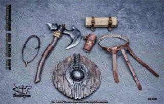 予約 送料無料  1/12 Dedemption F001 古代兵士武器アクセサリーセット