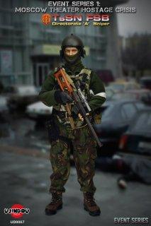 予約 送料無料 1/6 UJINDOU UD9007 EVENT SERIES 1 - TsSN FSB - Moscow Theater Hostage Crisis アルファ部隊