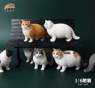 送料無料 1/6 JXK studio JXK064 英国 デブ猫 Fat Cat