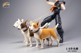 予約 送料無料 1/6 JXK studio JXK067 ブル・テリア犬