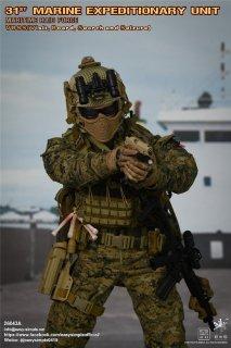 予約 送料無料 1/6 EASY&SIMPLE ES 26043A 米海軍VBSSチーム 欧米男性フルセット