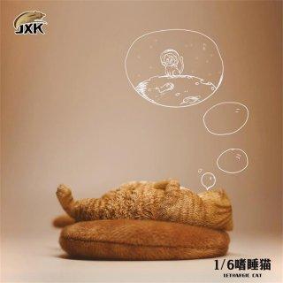予約 送料無料 1/6 JXK studio JXK070 可愛い善眠猫とマット