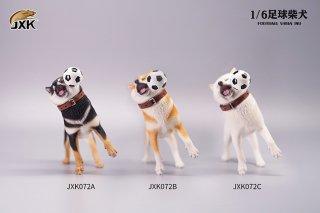 予約 送料無料 1/6 JXK studio JXK072 サッカー 可愛い柴犬