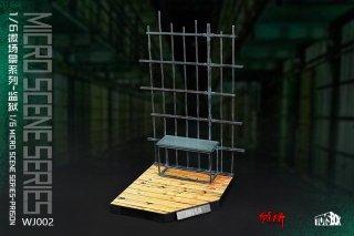 送料無料 予約 1/6 TOYS-BOX WJ002 micro scene series-prison 刑務所