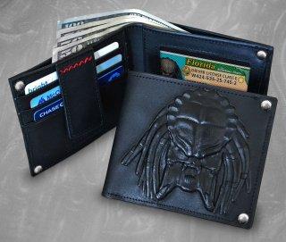 予約 送料無料 1/1 Hollywood Collectibles Group 908785 プレデター 本革 財布