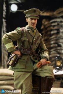 予約 送料無料 1/6 DID B11012 第一次世界大戦英国大佐 欧米男性フルセット