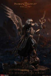 予約 送料無料 1/6 TBLeague PL2021-177A エジプト神話 天空の神 ホルス Golden