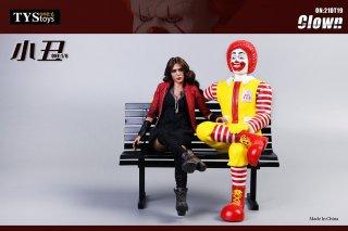 予約 送料無料 1/6 フォーマットフィギュア TYSTOYS 21DT19A/B/C/D Clown 欧米男性 椅子