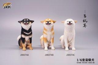予約 送料無料 1/6 JXK studio JXK074/5/6 可愛い柴犬