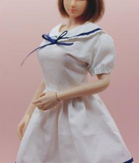 送料無料 1/6 Charlie's Angels 2021ガールズ 女子高生可愛いセーラー服とストキングセット